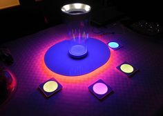 LED Coasters ... 10 LED Essentials to Light Up Your New Year's Party via Brit + Co.
