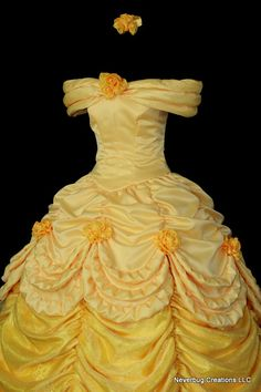 Adult  Beauty and the Beast Parade Gown Custom Costume
