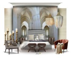 """""""Interior"""" by lenadecor ❤ liked on Polyvore featuring interior, interiors, interior design, home, home decor, interior decorating, Designers Guild, CB2, Arteriors and Arca"""