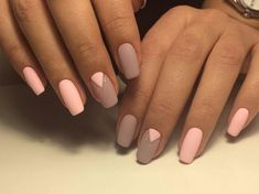 Simple Nail Art Designs That You Can Do Yourself – Your Beautiful Nails Creative Nail Designs, Simple Nail Art Designs, Toe Nail Designs, Creative Nails, Nails Design, Simple Art, Matte Nails, Diy Nails, Acrylic Nails