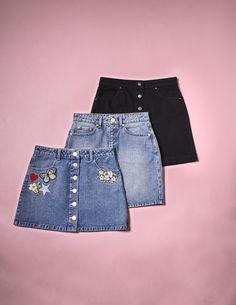 Perfect denim skirt pieces for summer from Miss Selfridge