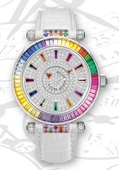 The Double Mystery Ladies Collection. Every watchmaker's dream has always been to manufacture a complete watch. The Franck Muller Swiss