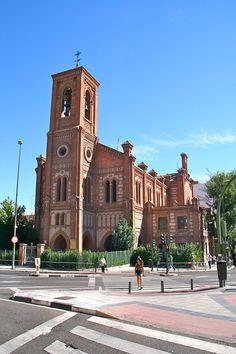 Iglesia de Santa Cristina (1904-1906). De estilo neomudéjar. Arquitecto, Enrique María Repullés - Wikipedia, la enciclopedia libre.  -Tamorlan - Trabajo propio