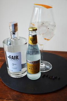 #gin #fair #ginfairjupiter #fevertre #tonic #mixologie #barman #cocktail #gintonic #orangeandpepers #genièvre #bai #fairtrade #saintmalo #packaging #glace