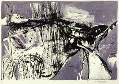 Elizabeth Blackadder(Scottish, b.1931)Tuscan Landscape  via