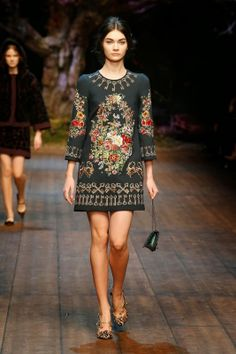 Dolce & Gabbana Winter 2015