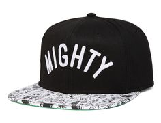 Mighty Arch Snapback Cap by MIGHTY HEALTHY