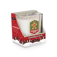 COMING SOON! - Gingerbread House 6.2 oz. Holiday Glass Tumbler by Root $15.00