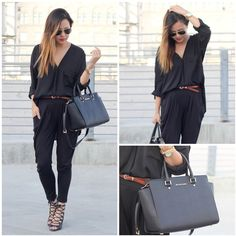 how to wear harem pants black 50 How to Wear Harem Pants to Copy Right Now outfits for teen