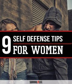 Survival Tips: Self Defense for Women