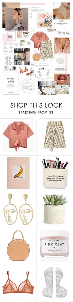 """A picture of youth."" by sarahstardom ❤ liked on Polyvore featuring Intermix, Chanel, Damiani, Allstate Floral, Mansur Gavriel, Herbivore, Eres and Aquazzura"