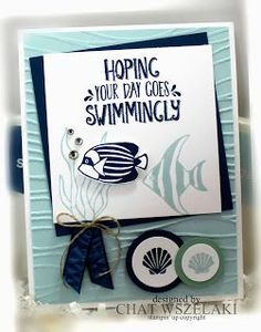 Nautical Seaside note card