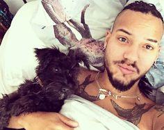 Pappa & pup @dukethart  # #puppy #dog #puppies #pet #happy #instagood #instapuppy  #doggie #doggo #minischnauzer #schnauzer #miniatureschnauzer #me #selfie #gpoy  #menwithbeards #boyswithbeards  #beardgang #beard #beardy #beardsofinstagram #instagood #instamood #walkies #braids #longhair #patta #piercing #longhairdontcare