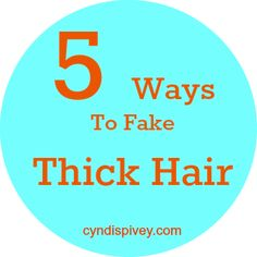 5 Ways To Fake Thick Hair - Grace & Beauty