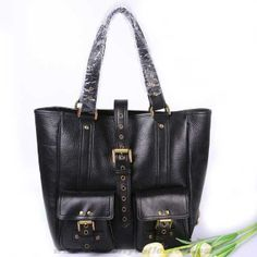 2713f584aca2 New Womens Mulberry Roxanne Leather Tote Bag Black Sale Online