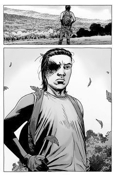 Charming Walking Dead Comic Cover 138 69 For comic cover photoshop by Walking Dead Comic Cover 138 Walking Dead Comic Book, Walking Dead Comics, The Walking Dead 3, Manga Covers, Comic Covers, Carl Grimes Comic, Twd Comics, Comic Art, Comic Books