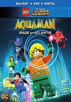 Lego DC Comics Super Heroes Aquaman Race of Atlantis