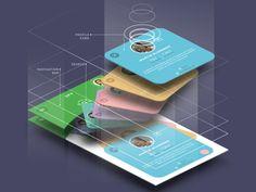 GIF Animation Set by Sergey Valiukh for Tubik Manufactory Web Design, App Ui Design, Mobile App Design, Interface Design, Branding Design, User Interface, Mobile Application Design, Mobile Mockup, Ui Animation