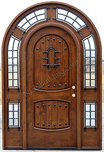 Bon Alder Doors | Rustic Exterior U0026 Arch Top Doors #entrywooddoors  #knottyalderdoors #roundtopdoors