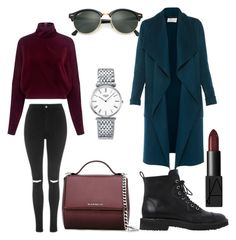 """Autumn"" by katerinaromanova on Polyvore featuring мода, Topshop, Giuseppe Zanotti, McQ by Alexander McQueen, Givenchy, Ray-Ban, Longines, L.K.Bennett и NARS Cosmetics"