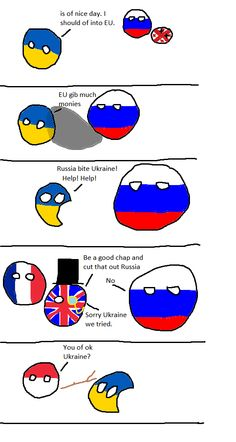 The Crimean Crisis Explained by Polandball #Meme