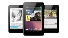 Google opened two new fronts in the wars of computer hardware today with the launch of a new 7-inch tablet and a living-room media device running the latest Android software that the search engine giant hopes will challenge Apple, Amazon as well as Microsoft.