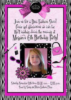 Little Diva Birthday Party Tori Party Pinterest Diva