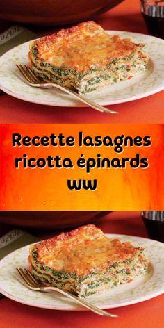 lasagna recipe with ricotta ~ lasagna recipe ; lasagna recipe with ricotta ; lasagna recipe with cottage cheese ; Spinach And Ricotta Lasagna, Easy Lasagna Recipe With Ricotta, Classic Lasagna Recipe, Best Lasagna Recipe, Plats Weight Watchers, Weight Watchers Meals, Cottage Cheese Lasagna Recipe, Easy Vegetarian Lasagna, Spinach Health Benefits