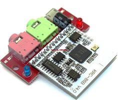 Bluetooth 4.0 Audio Module CSR8630 KRC-86B Wireless Stereo Receiver Micro USB 3.5MM Speaker Amplifier Sound Senser FZ1707