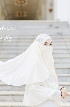 Niqab Fashion, Bridal Hijab, Hijab Niqab, Hijabi Girl, Allah Islam, Beautiful Hijab, Prom Dresses, Wedding Dresses