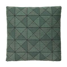 Tile cushion, green