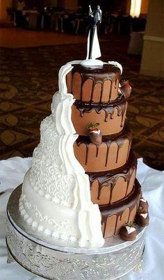 Wow..both chocolate n vanilla