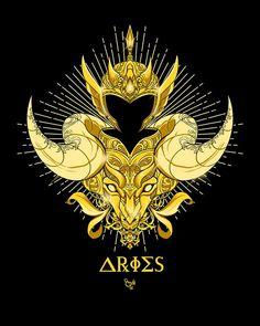 Game Over 3 Temporary Tattoo Set Arte Aries, Aries Art, Zodiac Art, Astrology Zodiac, Zodiac Signs, Andromeda Constellation, Aries Constellation Tattoo, Knights Of The Zodiac, Samurai Artwork