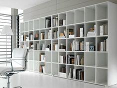 Regalsysteme Wohnzimmer Aufbewahrung-Bücher Sofa-weiß | Wohnideen ...