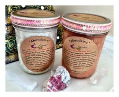 A beautiful product made by a beatiful soul!!! Abundance Law of Attraction Body Buff & Butter by CrystalSensation, $39.99