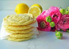 These soft Lemon Sugar Cookies are bursting with fresh lemon flavor. Imagine the marriage between a soft sugar cookie and a tangy lemon.