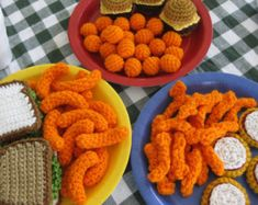 Another Pasta Party by CopaceticCrocheter on Etsy