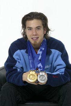 Apolo Anton Ohno at the Salt Lake City 2002 Winter Olympics
