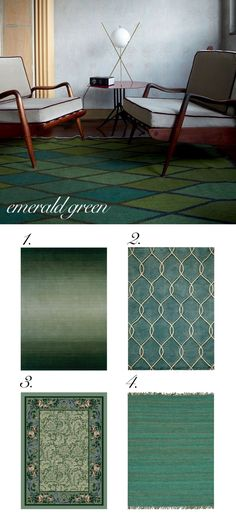 Jewel Tones for Fall Decorating | Trend Center by Rugs Direct #emerald