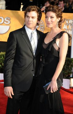 Michael C Hall and Jennifer Carpenter