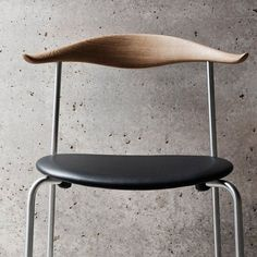 Hans J.Wegner first designed the Chair in 1955 and it has been stuck in… Helsingborg, Chair Design, Furniture Design, Chaise Chair, Scandinavia Design, Hans Wegner, Stackable Chairs, Take A Seat, Design Hotel