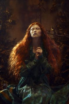 case of treasures: Photo Fantasy Photography, Fine Art Photography, Portrait Photography, Portrait Inspiration, Painting Inspiration, Character Inspiration, Pre Raphaelite, Beautiful Redhead, Fantasy Art