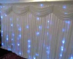 Stunning twinkle light backdrops. Please contact us for further details on 07736673828 or via the website