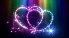Chakra Meditation Music, Summer Lyrics, Motion Backgrounds, Heart Background, Heart Wallpaper, Heaven, Neon Signs, Black Women, Rainbow