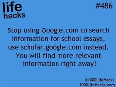 Google Scholar is a good starting point for those research papers every student has to write!