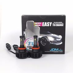 Latest DIY 9007 7th Gen 6000Lumens CREE 3000K 6500K 8000K LED Fog DRL Headlight #JDMASTAR