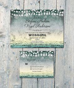 etsy handmade wedding invitations - Google Search