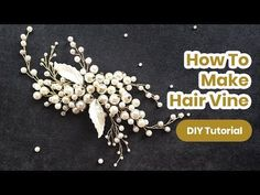 best=How to Make Bridal Hair Vine DIY Hair Comb from PEARLS Handmade TUTORIAL , Shop ball gown prom dresses and gowns and become a princess on prom night. Diy Hair Accessories For School, Handmade Hair Accessories, Bridal Hair Accessories, Diy Hair Accessories Tutorial, Jewelry Accessories, Diy Bridal Hair, Bridal Hair Vine, Hair Comb Wedding, Bridal Comb
