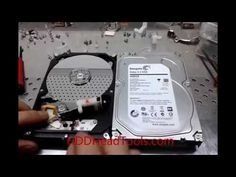 Seagate 4TB HDD Head Swap