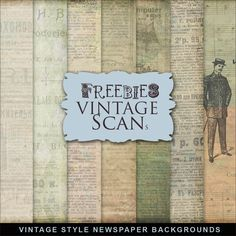 Far Far Hill: Free Vintage Papers newspaper backgrounds